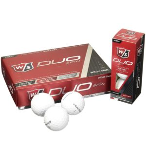 Wilson 2015 Staff Duo Spin Golf Balls- One DozenNew