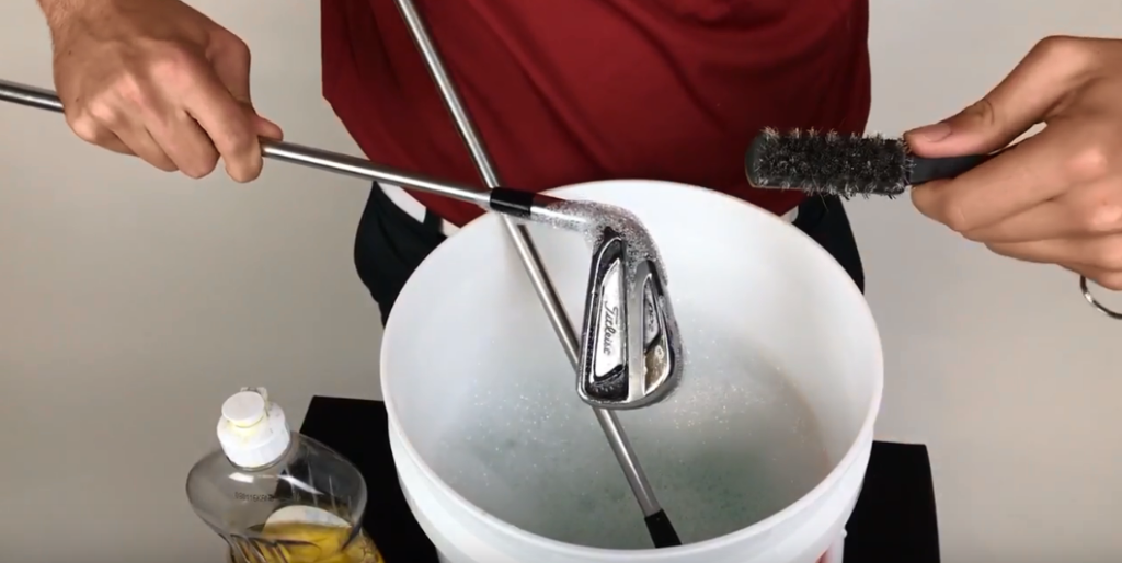 How To Clean Golf Grips Tutorial