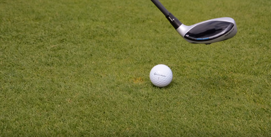 How To Hit a Hybrid Golf Club Instruction