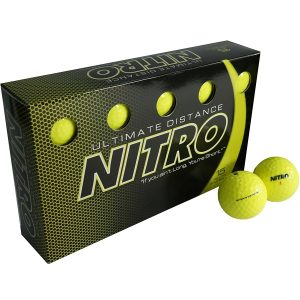 Nitro Ultimate Distance Golf Ball