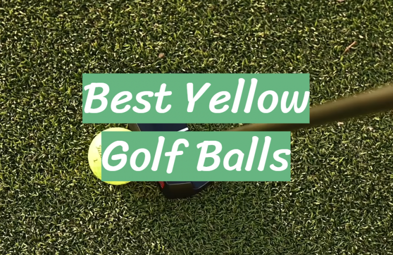 5 Best Yellow Golf Balls