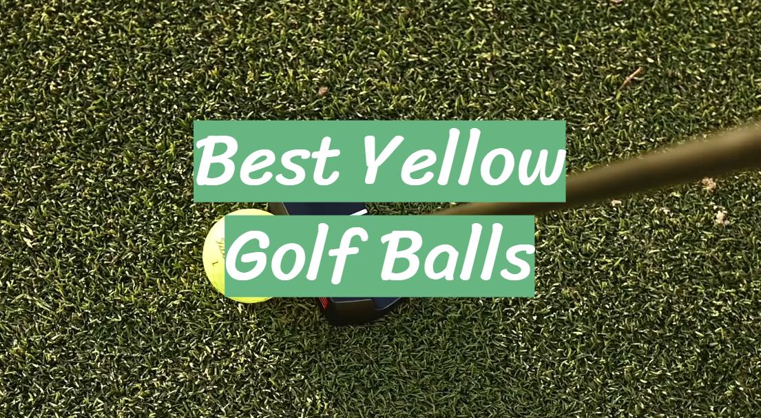 Best Yellow Golf Balls